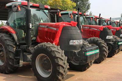凯斯纽荷兰工业高端农机顺利交付