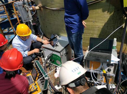 福德世分析仪参加南京环境监测站红外对比测试