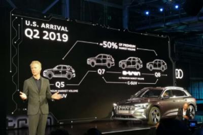 期盼已久!奥迪e-tron—奥迪首款纯电动SUV正式发布