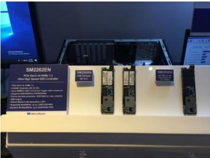 慧荣科技将在闪存峰会上展出最新存储主控芯片解决方案