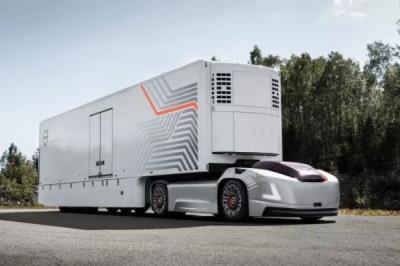 取消了驾驶室!沃尔沃新品纯电动自动驾驶卡车居然这么牛!
