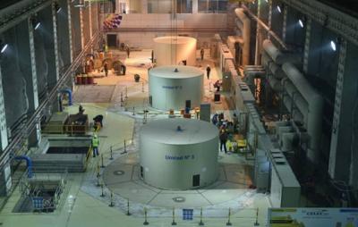 厄瓜多尔德尔西水电站1号机组、2号机并网调试完成