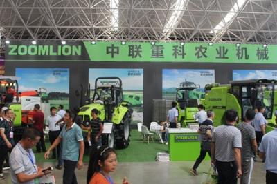 中联重科多款农机精品闪耀2018中南农机展