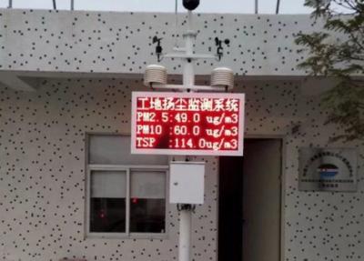 武汉混凝土搅拌站建筑工地扬尘噪声在线监测系统介绍