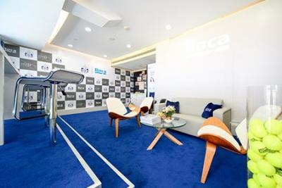 Roca卫浴再度成为2018上海劳力士网球大师赛荣誉赞助商
