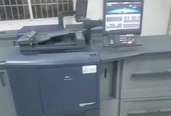 柯美C7000数码印刷机