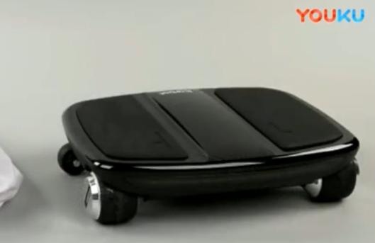 小i云车可以通过传感器来重置,体积小巧却是目前最轻的代步工具