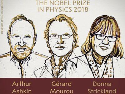 55年来首位女性!诺贝尔物理奖授予美法加三位激光物理学家!