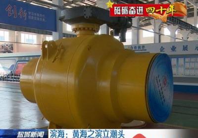 江苏苏盐阀门集团成功研制56寸900磅全焊接管线球阀,即将量产