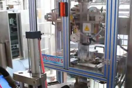 全自动五谷杂粮大米六面体抽真空包装机