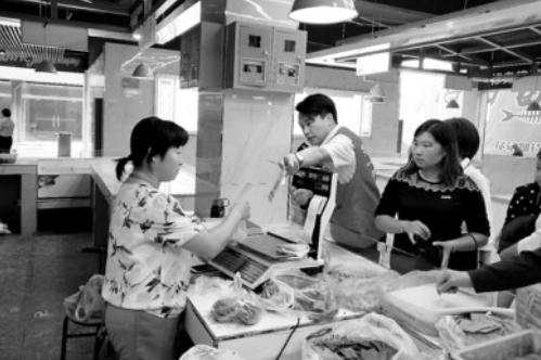 一步到位!桐城农商银行与千万加联合打造安庆首家智慧菜市场