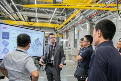 德国埃斯维机床技术日:展出SW高效智能的创新产品