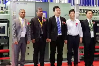 青岛环球HCP2025智能粗纱机全球首发