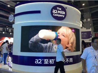 A2奶粉中国销量大涨 婴儿奶粉中国市场份额上升