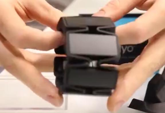 Myo智能臂环体验,可控制一切家用电器