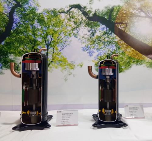 三菱电机涡旋压缩机以全新姿态首次亮相