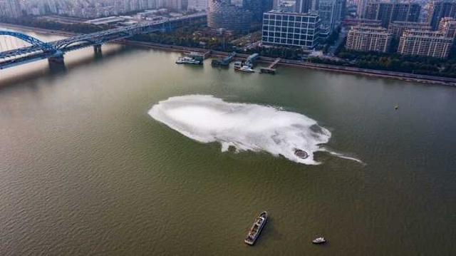 钱塘江江面神秘泡沫水质监测结果来了!