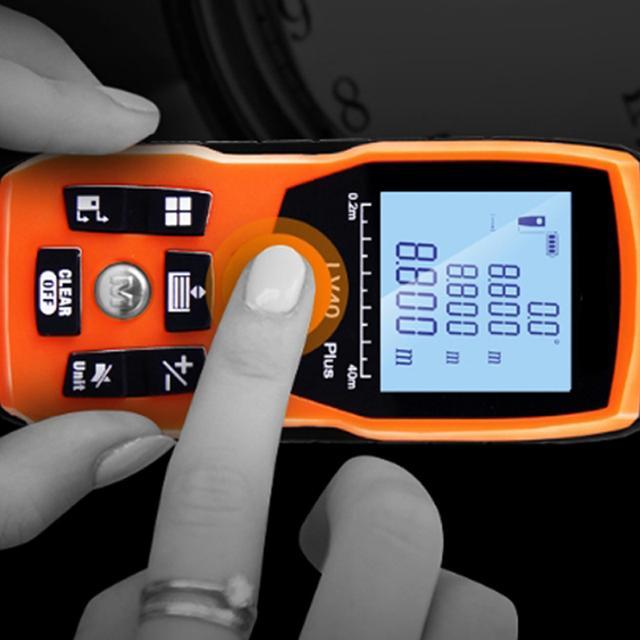 红外激光测距仪高效精准 房屋测量不用爬上爬下
