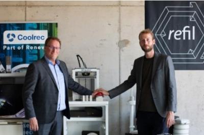 Coolrec和Refil推出可溶解3D打印材料 由回收冰箱制成