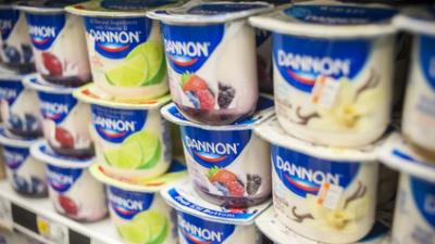 中国配方奶粉销售下滑拖累达能业绩