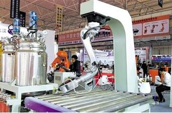 云浮国际石材科技展:广东石材加工正式迈入机器人时代