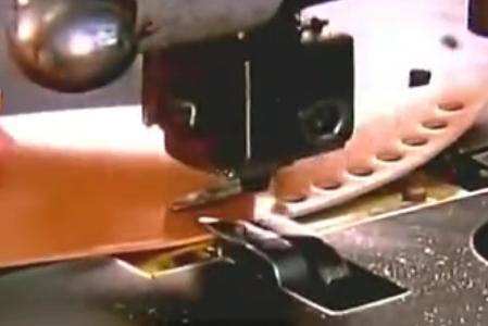 工厂皮革鞋生产全过程机械化