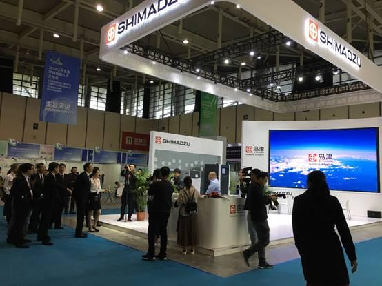 岛津携在线监测系列产品亮相新濠天地娱乐赌场生态环境新技术大会