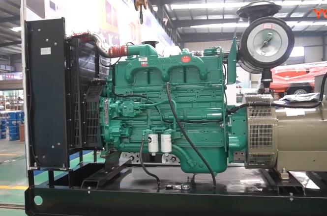 300kw柴油发电机组特点展示
