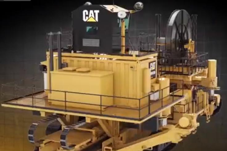 看卡特露天采煤机到底多先进, 谁能撼动卡特在采煤界的大哥地位?