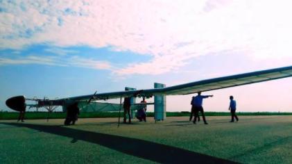 """恒神股份碳纤维助力20米翼展""""启明星""""太阳能无人机完成首飞"""