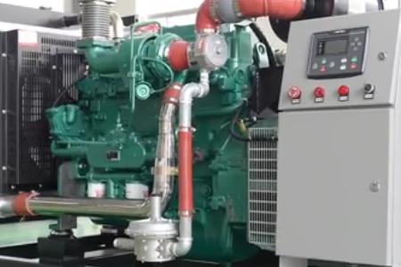 玉柴100千瓦沼气发电机组