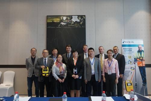 世界领先检漏仪器英福康创新燃气泄漏检测设备完成中国首秀