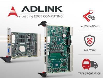 凌华科技发布两款全新处理器刀片:cPCI-3630 和 cPCI-6636
