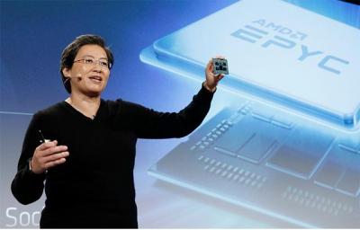 AMD正式推出世界首款7nmEYPC处理器,性能提升超过25%