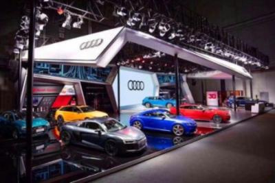 奥迪首款纯电动量产车型奥迪e-tron进博会完成中国首秀