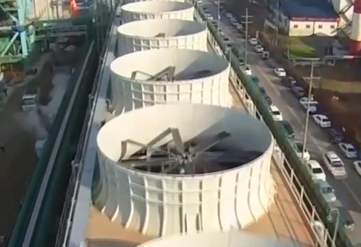 中国成功研制出空冷塔