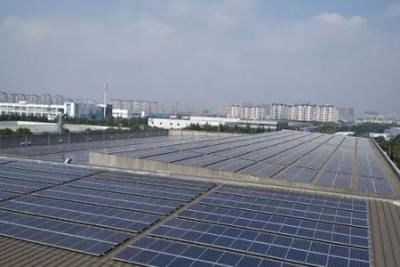 联盛新能源投建无锡富士电机1.2MW分布式光伏发电项目顺利并网