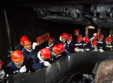 阳煤集团携手德国布朗打造采煤新设备,国内首台转盘式工转破一体机获同行认可