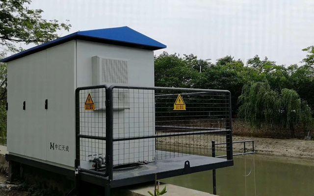 天津滨海新区已新建6座地表水自动站 实时监测断面水质