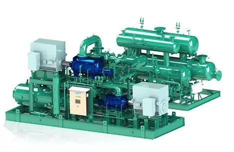 石化行业冷冻新选择:顿汉布什J&E Hall工业冷冻机组