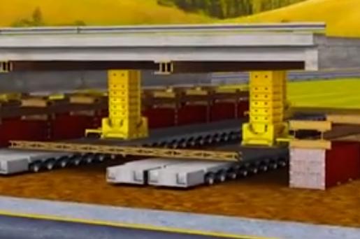 美国号称最安全架桥机想跟咱的架桥机比先进? 看完原理我笑了!