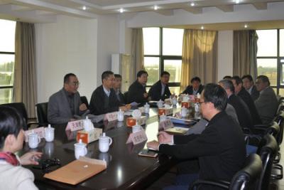 农机化司等领导到上海调研和农机装备供需对接