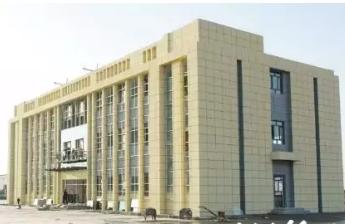 新疆阿克苏市彩印包装产业园主体工程已完工