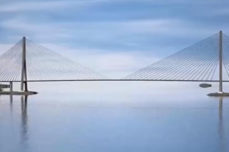俄罗斯花11亿美元造世界最长斜拉桥过程太艰难, 却用1次就废弃?