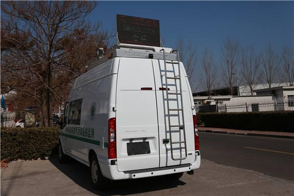 绍兴首辆汽车尾气移动遥感监测车正式上岗