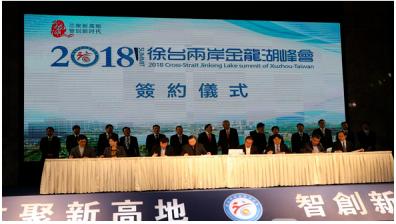 徐州与台资企业12个重大项目集中签约,总投资23.39亿元