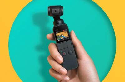 大疆发布灵眸OSMO口袋云台相机 口红大小Vlog神器!