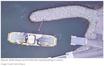 ?劳斯莱斯公开展示世界上第一艘完全自主驾驶的渡轮,称它将改变航运