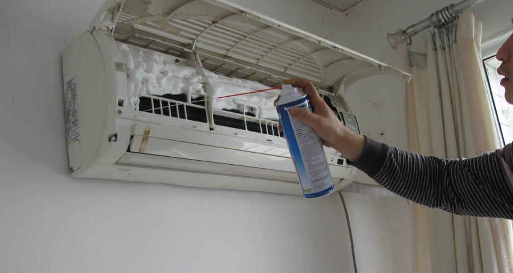 家用空调清洗剂使用方法