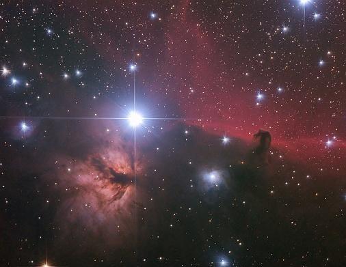 比较FAST望远镜与哈勃太空望远镜